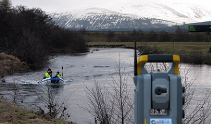River Spey Cross-Section Survey, Kingussie